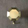 Diamond rack brass