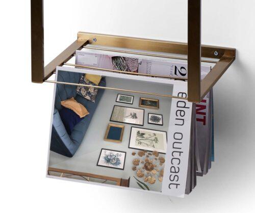 Billede af magasin holder funktion af Shelfie natbord