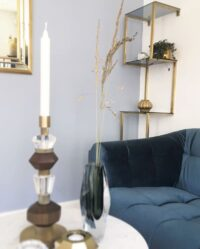 Styling photo of Shelfie with Mix Candle