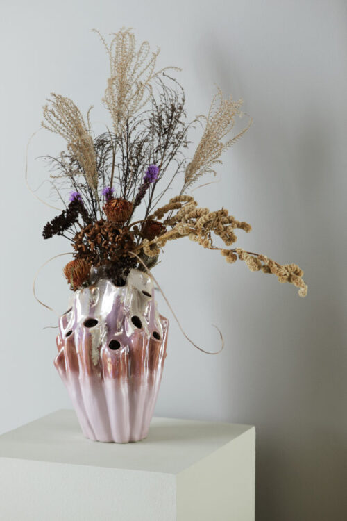 Styling billede af Lava vase i rose
