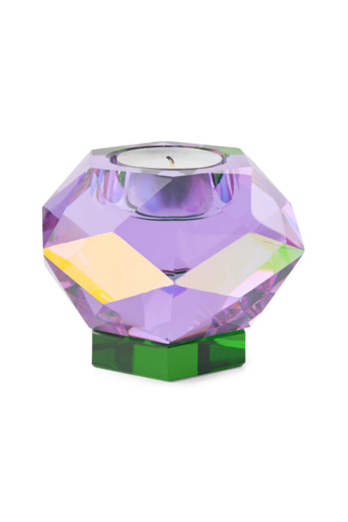 Packshot of Glam Candle in purple