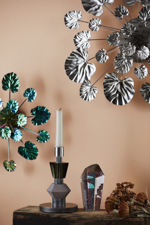 Styling photo of Wall Flower, Mix Candle and Crystal Rock